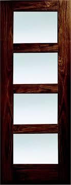 columbus walnut 4 panel shaker pre glazed