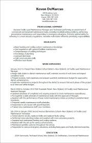 Resume For Maintenance Extraordinary Maintenance Resume Example Simple Resume Examples For Jobs