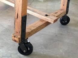 furniture wheels. break room table with 6 x 2 vintage rubber on steel swivel caster furniture wheels
