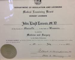 Medical Degrees About Dr John Loewen Md Sc
