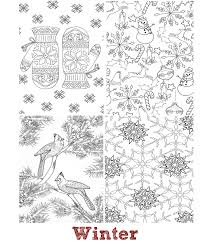 Small Picture The Seasons Mini Coloring Book Whispers In Nature