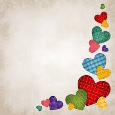 Colored Hearts Background Vector Free Download
