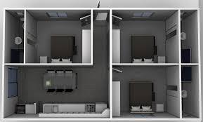bedroom designing websites. Perfect Bedroom The Student  Thee Bedroom Granny Flat Design Website 2  Flats  Sydney To Designing Websites R