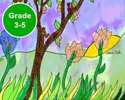 grade 3 4 and 5 art lessons kinderart com