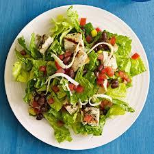 grilled chicken salad.  Salad In Grilled Chicken Salad C