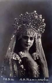 Елена <b>Степанова</b> в партии Царевны-Лебеди в опере <b>Н</b>. А ...