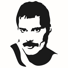 Freddie mercury the lead singer of queen and solo artist, who majored in stardom while giving new meaning to the word. Freddie Mercury Svg Queen Designs