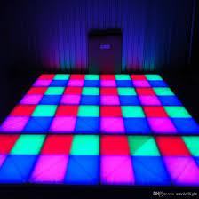 Led Panel Stage Lighting Rgb Led Dance Floor Panel Dancing Dance Floor Stage Light Disco Panel X10mm Led Dance Floor Disco Ktv Light Stage Lighting Free Disco Lights Home