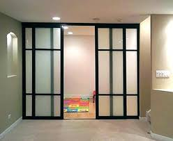office partition with door. Office Partitions Slide Room Dividers New Glass Door Home Wall Within 2  Closet Ideas Diy Partition With