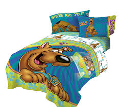 scooby doo twin bed comforter smiling scooby bedding