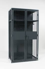 the storage locker s open but secure design allows existing lighting ventilation and fire suppression systems to function effectively throughout the