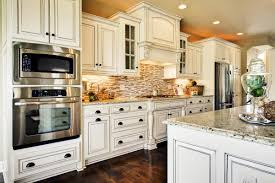 Kitchen Tile Backsplash Ideas With White Cabinets White Cabinet And
