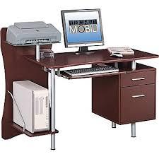 office desks at staples. techni mobili computer desk brown rta325 office desks at staples r
