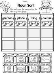 A collection of spelling worksheets aimed at very young learners. Christmas Noun Sort Part Of The Christmas 1st Grade Literacy Worksheets Packet Common Cor Literacy Worksheets 1st Grade Worksheets First Grade Worksheets