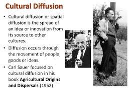models human geography cultural diffusion