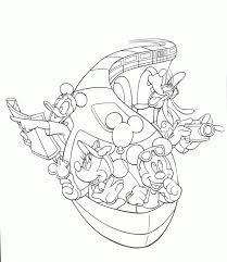 Disney Cruise Coloring Pages Free Printable Coloring Pages