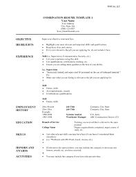Functional Resume Template Microsoft Word Radiodignidadorg