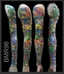 как я эскиз татуировки рисовал