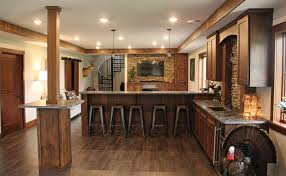 custom kitchen cabinets rustic alder