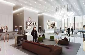 Office pop Reception Desk Office Popup Hotels Trend Hunter 20 Social Enterprises For The Office