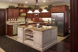 Decorations On Top Of Kitchen Cabinets Fascinating Kitchen Kitchen Cabinets Top Decorating Ideas Brown Rectangle