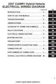 2005 toyota matrix engine size wiring diagram for car engine 2007 toyota camry hybrid electrical wiring diagram em02h0u