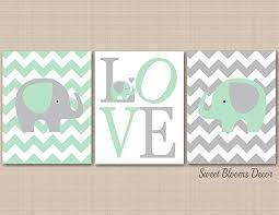 mint gray elephant nursery wall art elephant nursery wall art elephant wall art  on mint green canvas wall art with amazon mint gray elephant nursery wall art elephant nursery