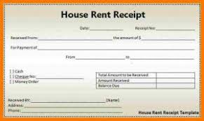 rental receipt pdf rent receipt pdf template business