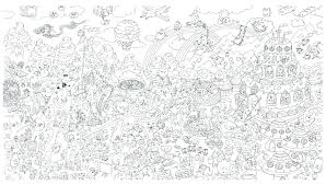 Large Coloring Posters For Adults Velvet Coloring Posters For Adults
