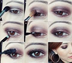 easy bronzed chocolate eye makeup tutorial