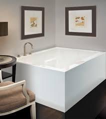fine double sided bathtub crest bathroom with ideas