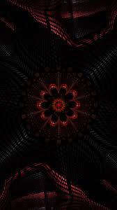 wallpaper fractal dark abstraction