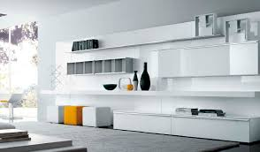 furniture living room wall cabinet with door and bookshelf white storage unit open self also cabinets