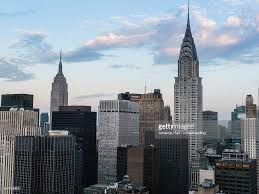 chrysler building and empire state building. manhattan skyscrapers including the empire state building and chrysler new york city united states of america north 2