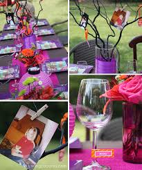 diy centerpieces for 40th birthday party. 40th birthday party ideas! beautiful outdoor ideas and printables. livinglocurto.com diy centerpieces for i