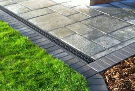 garden drainage. Drainage Channels For Patio Surface Water Garden