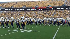 2016 wvu marching band pregame show boogie cadence fight mounneers simple gifts