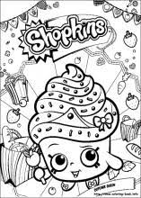 Shopkins Coloring Pages On Coloring Bookinfo