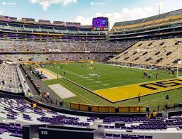 Lsu Tiger Stadium Section 213 Seat Views Seatgeek