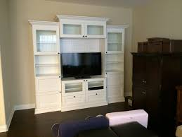 Living Room Cabinets With Glass Doors Living Room Comely Image Of Living Room Decoration Using