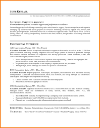 9 Real Estate Administrative Assistant Resume Letter Of Apeal