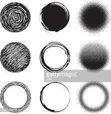 Circle Design Elements Vector Art