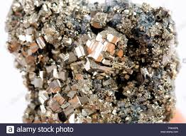 Sulfide Minerals Pyrite Is Considered The Most Common Of The Sulfide Minerals Stock