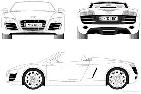 Imprimer V Hicules Voiture Audi Num Ro 105532