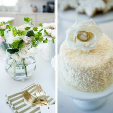 Pretty Desserts For Your Dessert Buffet Coconut Cake With Flower
