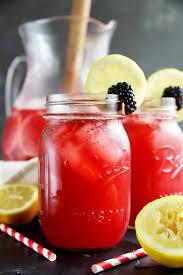 Add strawberries to the bottom of a large pitcher. Sparkling Blackberry Vodka Lemonade Cake N Knife