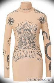 показ модной коллекции Vetements в париже одежда с уголовными тату