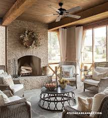 covered porch furniture. screened porch with fireplace covered furniture