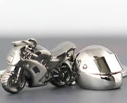 clic 3d simulation model motorcycle motorbike keychains creation alloy helment keyring trinket key holder gifts car
