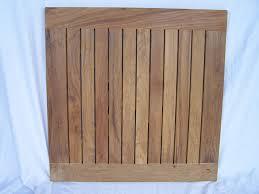 real teak wood round indoor outdoor